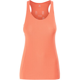 Haglöfs L.I.M Tech Sleeveless Shirt Women orange